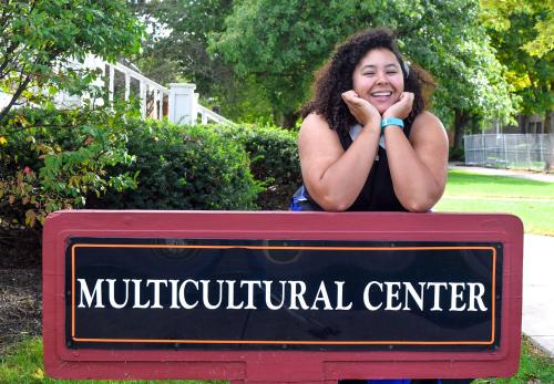 ONU's International Students Services Coordinator (ISSC) Omega Hollies first entered the Multicultural Center four years ago. On October 23, she will leave it for the last time. (Northern Review photo / McKenzie Wilson)